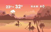 Bắc Bộ nắng ấm, Trung và Nam Bộ mưa lớn