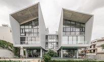 Nhà song lập kiến trúc độc lạ chưa từng có ở Sài Gòn