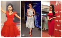 Dù đã U50, nàng 'Chúc Anh Đài' Lương Tiểu Băng vẫn có gu thời trang trẻ trung như gái 18
