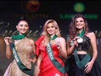 Hà Thu 'ẵm' giải đồng Trang phục dạ hội tại HH Trái đất