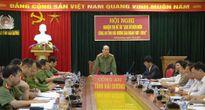 Nghiệm thu đề tài 'Lịch sử biên niên Công an tỉnh Hải Dương, giai đoạn 1997 – 2016'