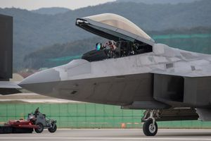 Dàn chiến đấu cơ tối tân Mỹ kiêu hãnh ở Hàn Quốc