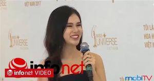 Những câu trả lời 'ngô nghê' trong cuộc thi Hoa hậu Hoàn vũ Việt Nam 2017