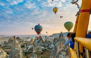 Chuyến đi khinh khí cầu tuyệt nhất thế giới