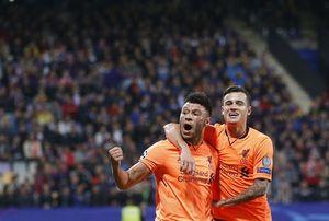 Maribor 0-7 Liverpool: Chamberlain có bàn thắng đầu tiên