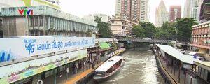 'Xe bus' trên sông ở Bangkok