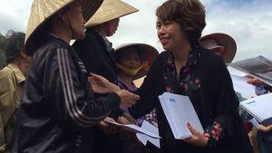 Báo Thanh Niên cứu trợ đồng bào vùng lũ Ninh Bình