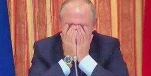 Tổng thống Putin ôm mặt cười vì đề nghị xuất thịt lợn sang Indonesia