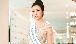 Hoa hậu Đỗ Mỹ Linh rạng rỡ trước ngày lên đường thi Miss World 2017