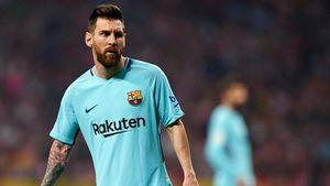 Messi có bàn thắng lọt vào top 10 'siêu phẩm' tuần qua