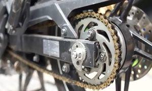 Cách vệ sinh và bôi trơn xích xe máy đơn giản