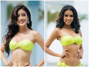 Nhận lượng vote cao chót vót, Huyền My vẫn đứng sau đại diện Indonesia trong phần thi bikini