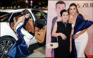 Kim Tuyến khoe vòng một sexy, lái siêu xe 6 tỷ đồng đi dự sự kiện