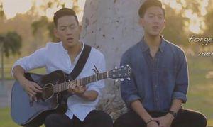 Hai anh em sinh đôi gốc Việt cover 'Em gái mưa'
