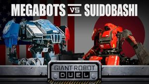 Cuộc chiến giữa những robot khổng lồ của Mỹ và Nhật Bản