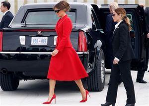 Nữ mật vụ Mỹ có ngoại hình giống hệt Đệ nhất Phu nhân Melania