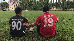 Cựu tuyển thủ Nguyễn Hồng Hải viết tiếp giấc mơ bóng đá cùng con trai