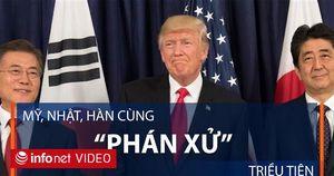 Mỹ, Nhật, Hàn cùng đàm phán để đối phó với Triều Tiên