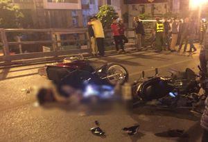 Tai nạn trên cầu vượt Thái Hà lúc nửa đêm: 3 người thương vong