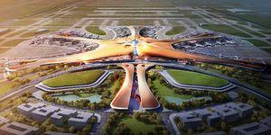 Ngắm siêu sân bay của Trung Quốc