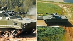 Mỹ bị đe dọa bởi đội quân robot Nga