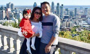 Hai bố con Việt kiều 'ngọng nghịu' tập đếm bằng tiếng Việt