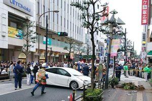 Nhật Bản: Cụ ông U90 lao xe vào đám đông, 7 người bị thương