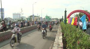 Thông xe cầu Nhị Thiên Đường 1 sớm hơn 3 tháng