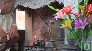 Cụ ông 80 tuổi dựng 'khu vườn tình yêu' bên mộ vợ