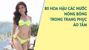 Huyền My diện áo tắm đọ sắc với thí sinh Hoa hậu Hòa bình Thế giới