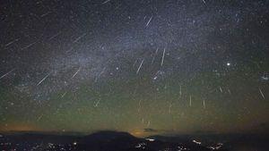 Tận hưởng cảnh đẹp của mưa sao băng Orionid 2017 đêm 20/10 và rạng sáng 21