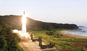 Quân đội Hàn Quốc có 3 lớp hoả lực để đối phó Triều Tiên