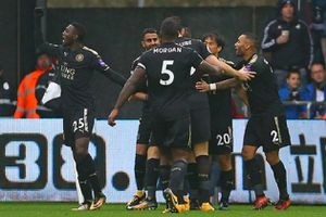 Leicester vận đúng câu 'thay tướng đổi vận'