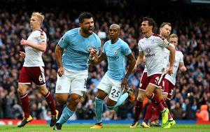Thắng dễ Burnley, Man City nới rộng khoảng cách với Man Utd lên thành 5 điểm