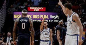 Dư âm Warriors 128-120 Pelicans: 'Nhà vua' bừng tỉnh đúng lúc