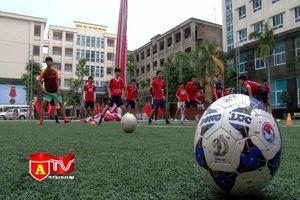 Các đội bóng đã sẵn sàng cho Giải bóng đá học sinh THPT 2017