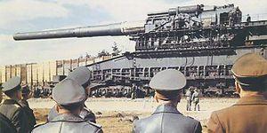 Hitler từng chế tạo thành công khẩu súng khổng lồ nầng dài 47 mét, bắn đạn 4500kg