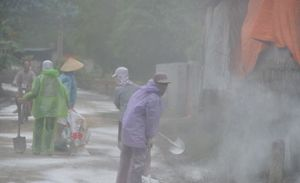 Hà Nội xử lý dịch bệnh sau lũ