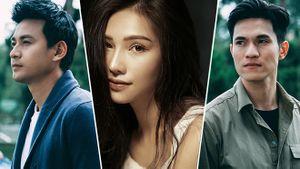 Lưu Đê Ly (Người phán xử) vướng tình tay ba với Ngọc Thuận, Minh Anh trong phim 'Cuộc chiến vô nghĩa'