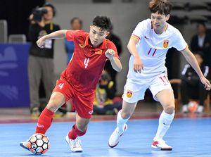 Futsal: Việt Nam đánh bại Trung Quốc ngay trên sân đối phương