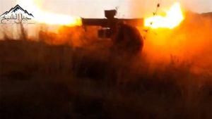Phiến quân dùng tên lửa Liên xô diệt gọn cặp tăng Syria