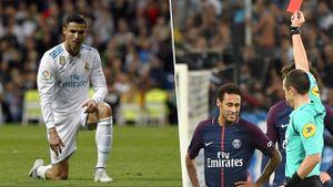 Bản tin BongDa ngày | 23.10 | Ronaldo tịt ngòi trong ngày Neymar nhận thẻ đỏ