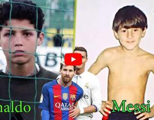 Cristiano Ronaldo và Lionel Messi thay đổi như thế nào từ 1 tuổi đến hiện tại?