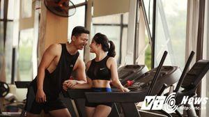 Bộ ảnh cưới cực độc của cặp đôi gặp và yêu nhau từ phòng tập gym