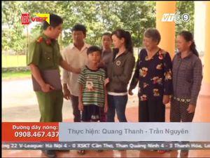 Cảnh sát Tây Ninh giải cứu bé trai 9 tuổi bị người tình của bà nội bắt cóc