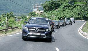 Hành trình 'ôm' SUV Mercedes tiền tỷ vào rừng, ăn bờ, ngủ lều