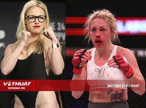 Mỹ nữ MMA Heather Hardy trọng thương sau Bellator 185