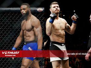 Nhà vô địch UFC Woodley có ý định lên cân để đấu với Bisping
