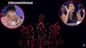 Phấn khích với màn chèo thuyền từ nón lá độc đáo, Jay Park 'phát điên' với nhóm nhảy Việt tại Asia's Got Talent