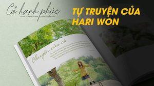 Hari Won ra tự truyện về tuổi thơ cơ cực